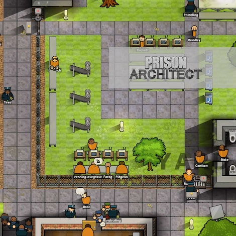 Prison Architect Standard Steam Key GLOBAL - gameplay - 14