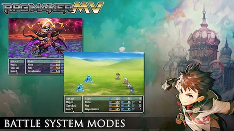 RPG Maker MV GLOBAL Key Steam - Screenshot - 3
