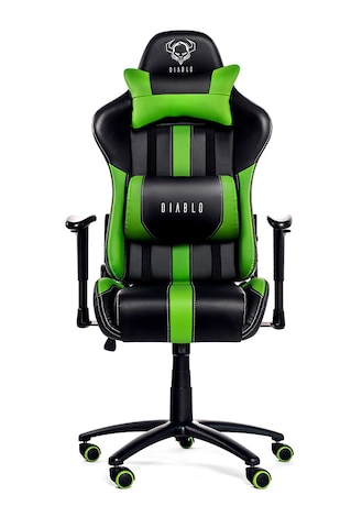 DIABLO X-PLAYER Gaming Chair Black & green