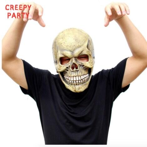Scary Skull Mask Full Head Halloween Masks