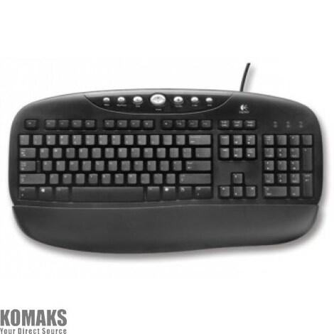 Logitech Black Internet Pro Keyboard FR