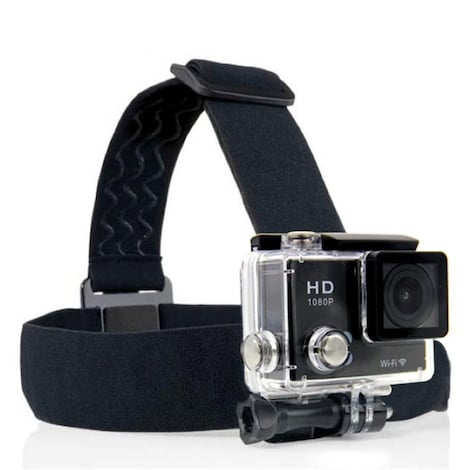 Gopro Headband Black Nylon