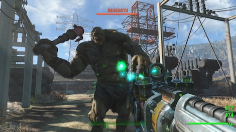 Fallout 4: Game of the Year Edition Steam Key PC GLOBAL - gameplay - 21
