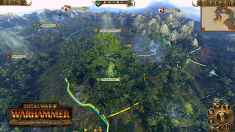 Total War: WARHAMMER - The Realm of the Wood Elves Key Steam GLOBAL - screenshot - 6