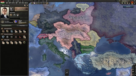 Hearts of Iron IV: Death or Dishonor Key Steam GLOBAL - screenshot - 5