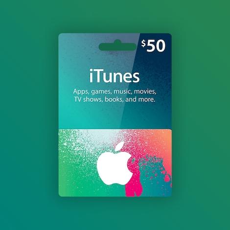 Buy Apple Itunes 50 Gift Card Us Code