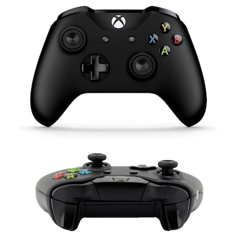 Xbox One Black Bluetooth Wireless Microsoft Controller with 3. 5mm Headset Jack - product photo 1