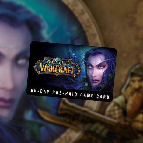 World of Warcraft Time Card Prepaid 60 Days NORTH AMERICA Battle.net - captura de tela - 2
