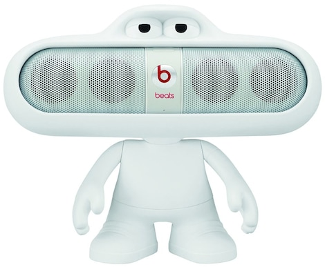 [REYTID] Beats by Dr. Dre Pill DUDE White Character Speaker Holder Stand Mount  White