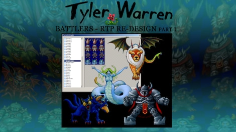 RPG Maker VX Ace - Tyler Warren RTP Redesign 1 Steam Key GLOBAL PC