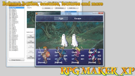 RPG Maker XP Steam Key GLOBAL - screenshot - 4