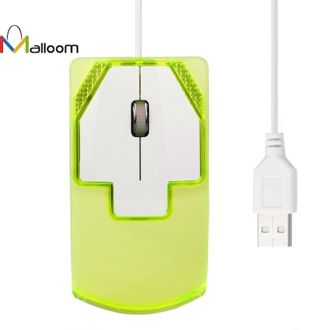 Wired Gaming Optical Mouse 1600 DPI Green - product photo 4