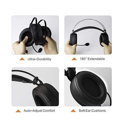 NUBWO Gaming headsets - Wired PC / XBOX/ PS4 Gaming Headphones with Noise Canceling Mic - product photo 3