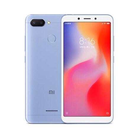 Xiaomi Redmi6 Blue, 3/32GB, DS, 4G  MZB6341EU