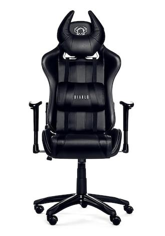 DIABLO X-ONE HORN Gaming Chair Black & black