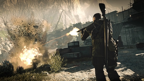 Sniper Elite 4 Steam Key GLOBAL - gameplay - 12