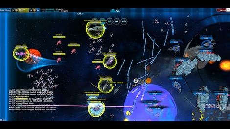 Astro Lords: Oort Cloud - MOBA: Two Stations 50 Key GLOBAL - screenshot - 8