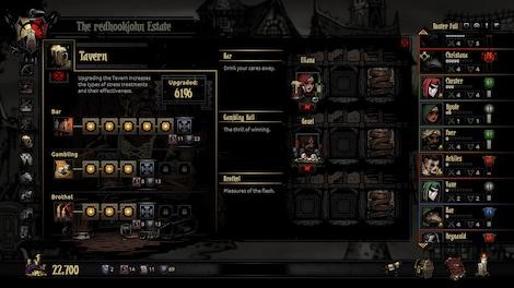 Darkest Dungeon Steam Key GLOBAL - gameplay - 11