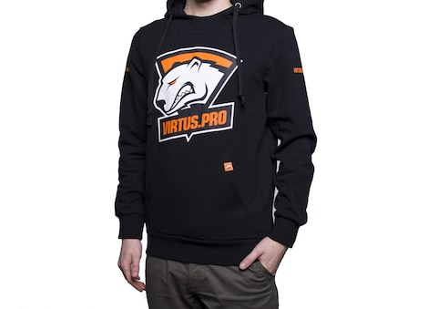 VIRTUS PRO: Classic Player Men's Hoodie 2017 Edition S Black
