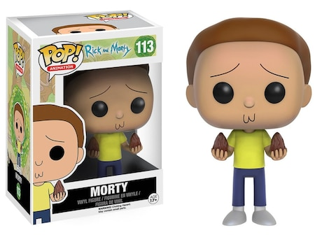 Funko Pop! Vinyl: Animations - Rick and Morty - Morty