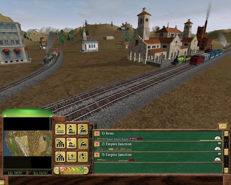 Railroad Tycoon 3 Steam Key GLOBAL - gameplay - 9