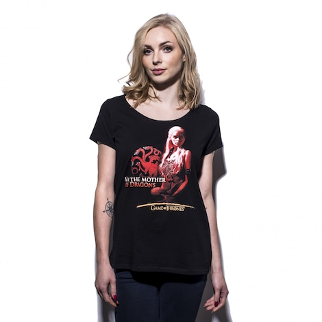 GAME OF THRONES: Mother of dragons Women's T-shirt S Black