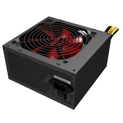 Mars MPII750 Gaming - PC Gaming power supply (750W, ATX, 12 cm fan, PFC Active, single rail 12V) - product photo 2