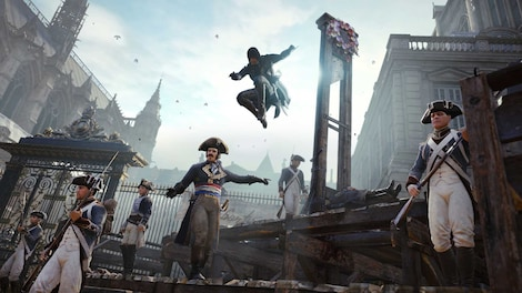 Assassin's Creed Unity XBOX LIVE Key GLOBAL - gameplay - 8