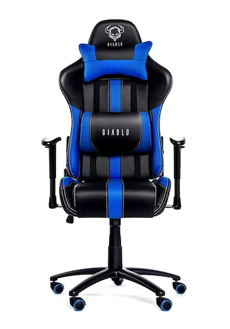 X Blue G2a Gaming Chair com Diablo Blackamp; Player EDYW9eHI2