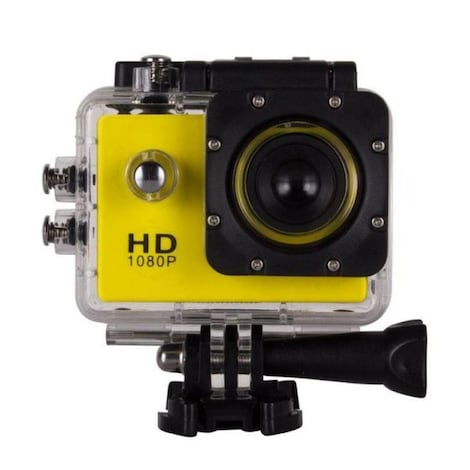 ( 2Inch ) Mini Waterproof Sports Recorder Camera Black - product photo 1