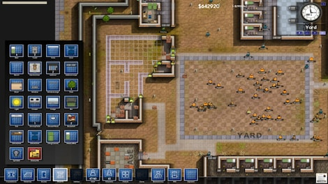 Prison Architect Standard Steam Key GLOBAL - gameplay - 12