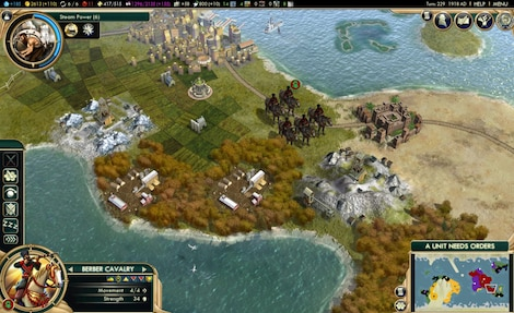 Sid Meier's Civilization V: Complete Edition Steam Key GLOBAL - ゲームプレイ - 20