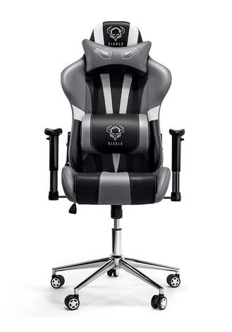 DIABLO X-EYE Gaming Chair Black & white & gray