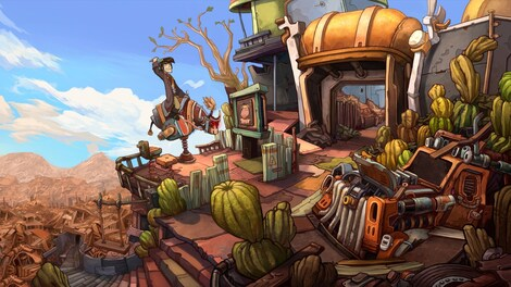 Deponia Trilogy Steam Key GLOBAL - gameplay - 43