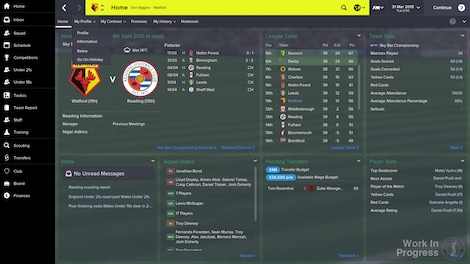 Football Manager 2015 Steam Key GLOBAL - gameplay - 11