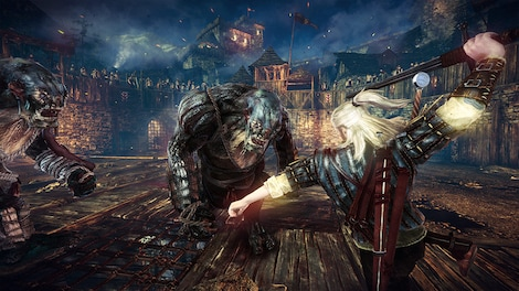 The Witcher 2: Assassins of Kings Enhanced Edition GOG.COM Key GLOBAL - gameplay - 14