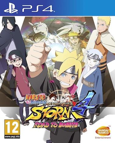PS4 Naruto Shippuden Ultimate Ninja Storm 4 Road to Boruto