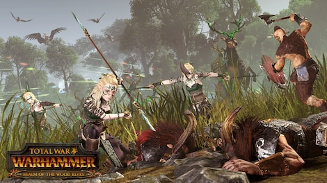 Total War: WARHAMMER - The Realm of the Wood Elves Key Steam GLOBAL - screenshot - 2