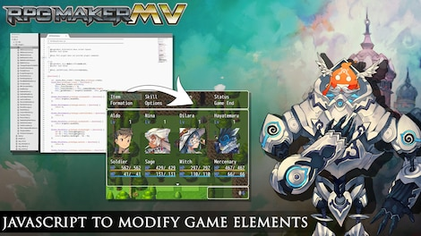RPG Maker MV GLOBAL Key Steam - Screenshot - 8