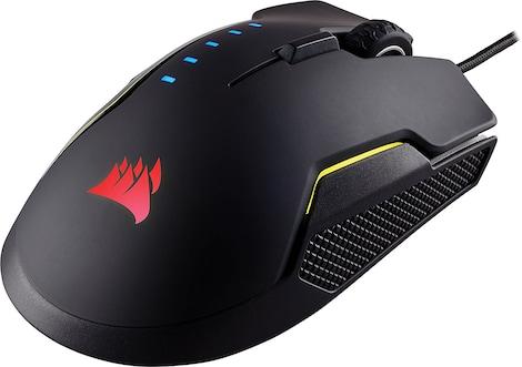 Corsair GLAIVE RGB 16000DPi Optical Performance Gaming Mouse - Aluminum