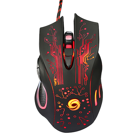 6D USB Wired Gaming Mouse 3200DPI 6 Buttons LED Optical Professional Pro Mouse Gamer Computer Mice for PC