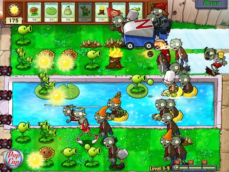 Plants vs. Zombies GOTY Edition Steam Key GLOBAL - gameplay - 12