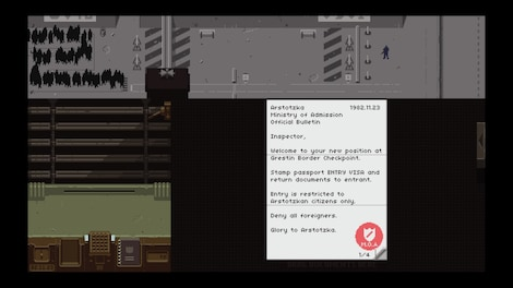 Papers, Please Steam Key GLOBAL - gameplay - 24
