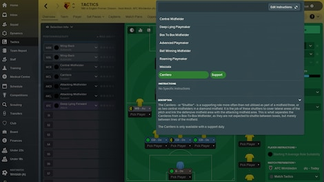 Football Manager 2018 Steam Key GLOBAL - gameplay - 14