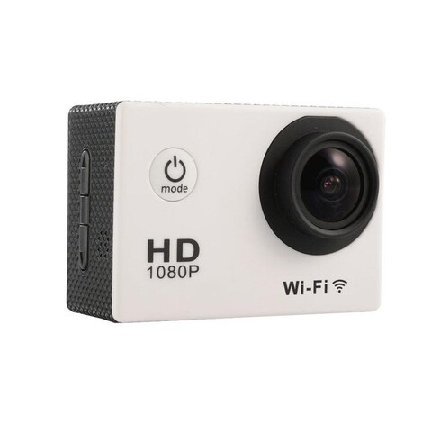 Waterproof Sports camera  - WIFI action 1080P HD DV  Blue - product photo 3