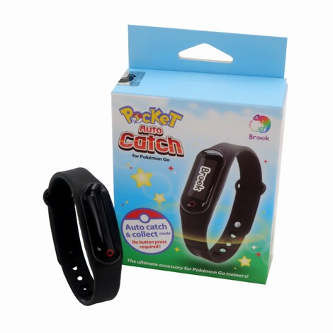 Brook Bracelet Wristband Bluetooth Pocket Catcher Collect for Pokemon Go Nintendo Android IOS No need Go Plus