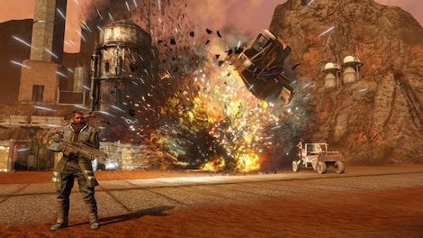 Red Faction Guerrilla Re-Mars-tered Steam Key GLOBAL - rozgrywka - 10
