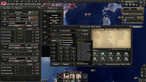 Hearts of Iron IV: Waking the Tiger Steam Key GLOBAL - screenshot - 5