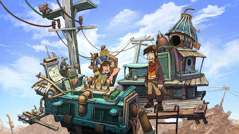 Deponia Trilogy Steam Key GLOBAL - gameplay - 42