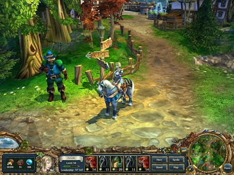 King's Bounty: Ultimate Edition Steam Key GLOBAL - gameplay - 4